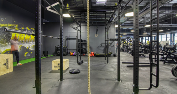 Cage de Cross training vue de profil