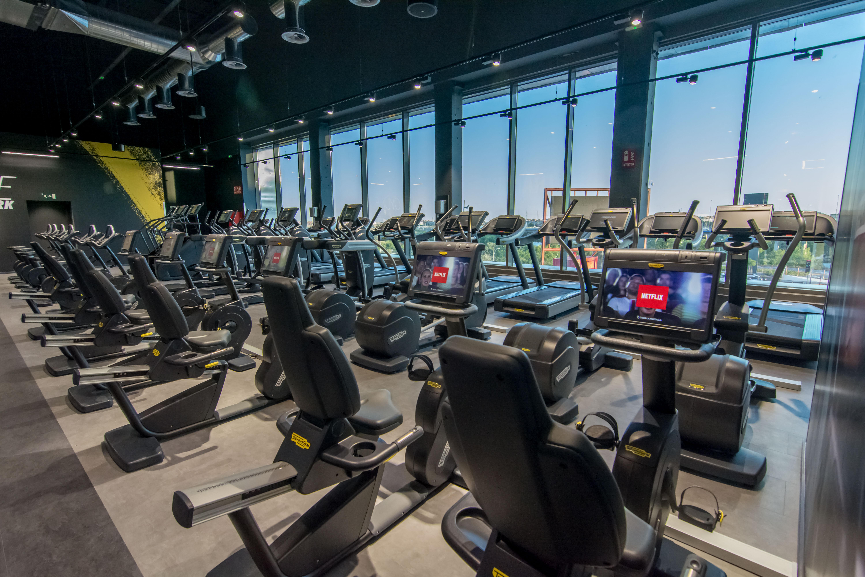 Cardio en fitnesspark
